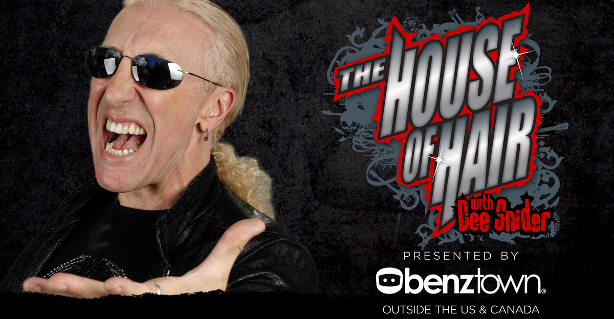 house of hair, dee snider, rock n roll, metal, programming show
