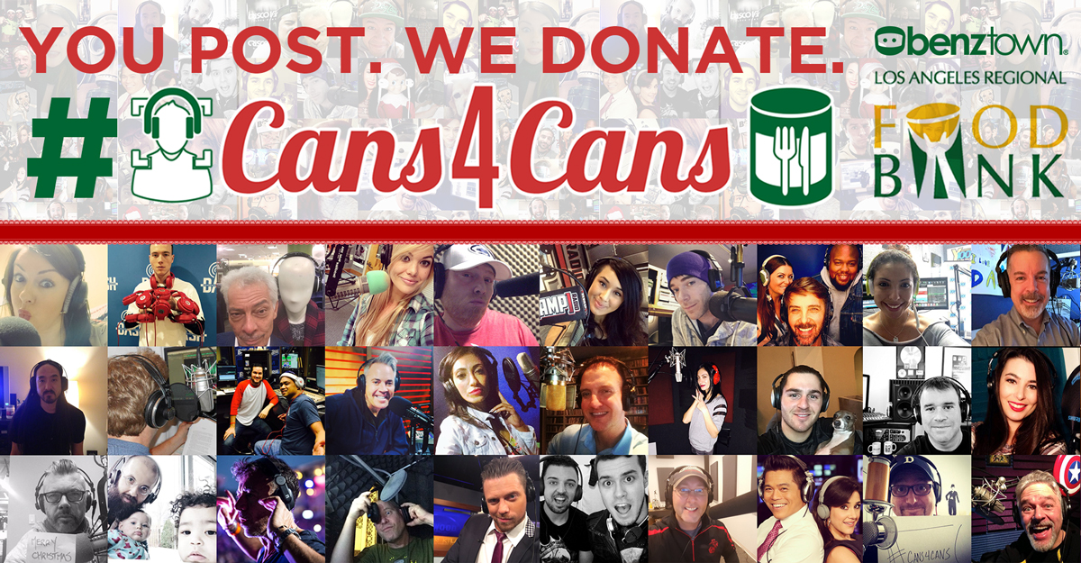 Fourth Annual Cans4Cans Kicks Off