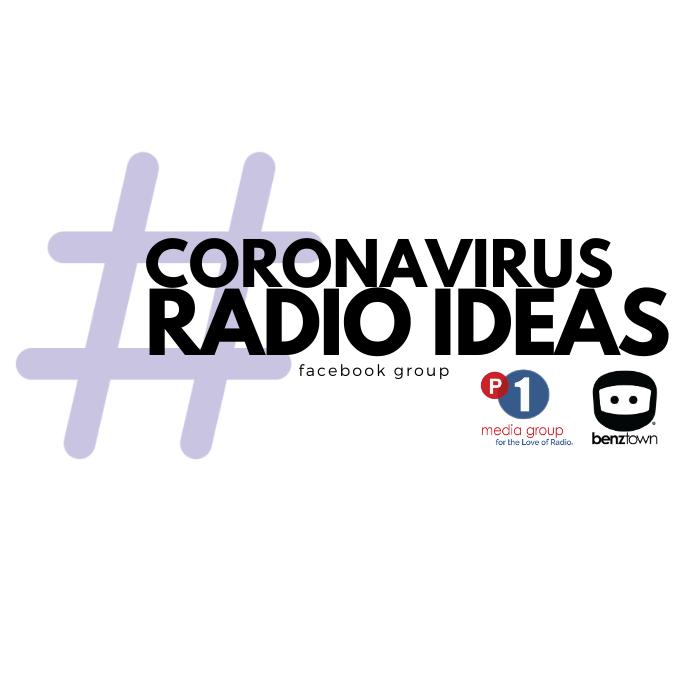 Coronavirus Radio Ideas Logo