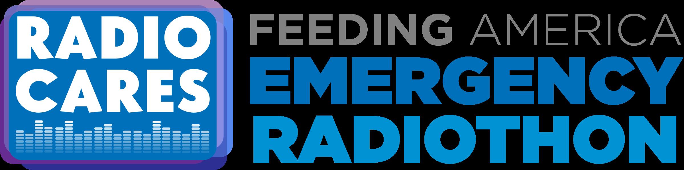 Feeding America Emergency Radiothon LOGO
