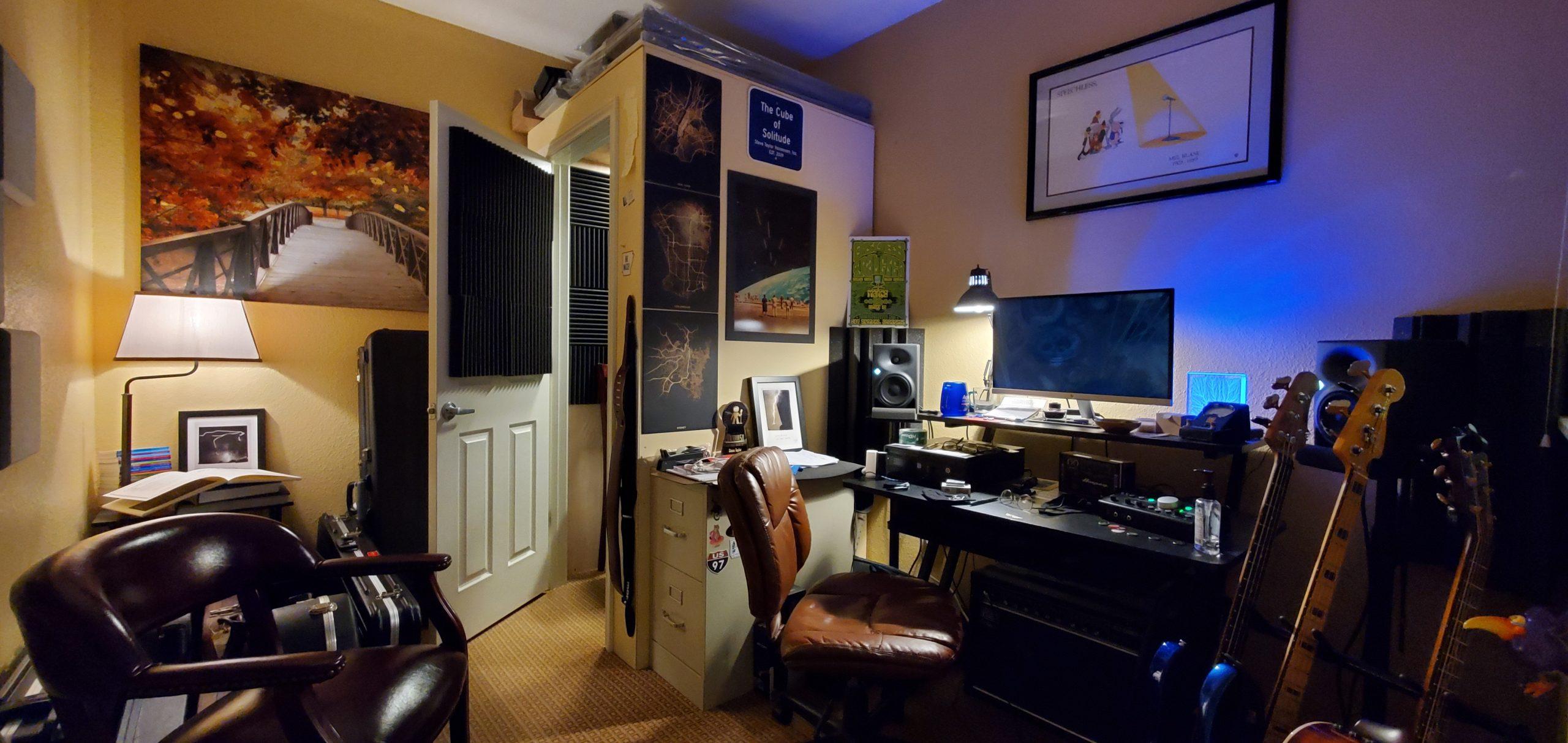 Steve Taylor's Studio