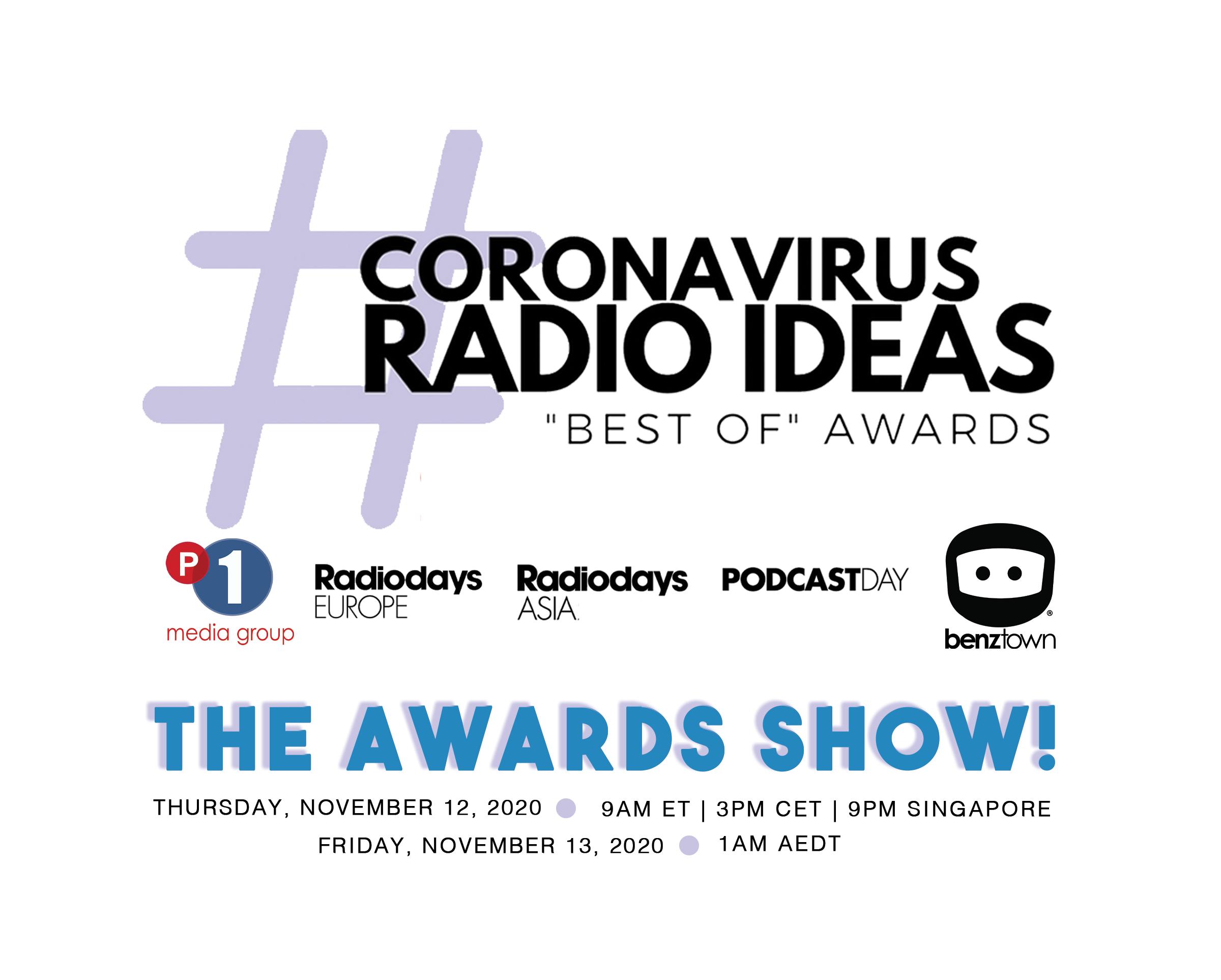 Coronavirus Radio Ideas Awards Show