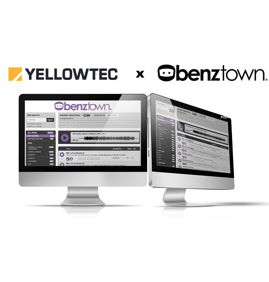 Benztown Yellowtech Podcast Mic Partnership