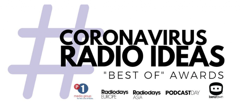 Coronavirus Radio Ideas Awards
