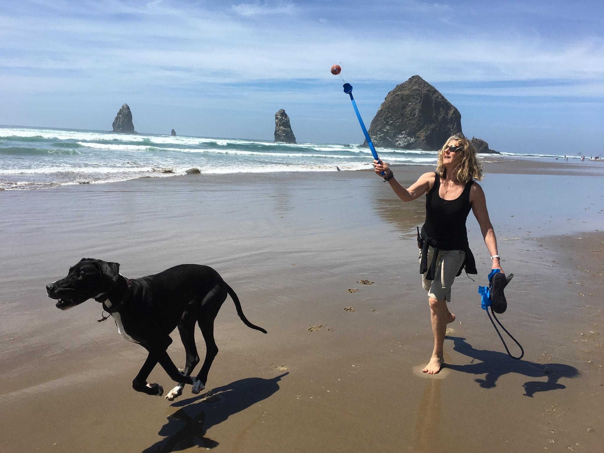 Dani & Moose Cannon Beach OR