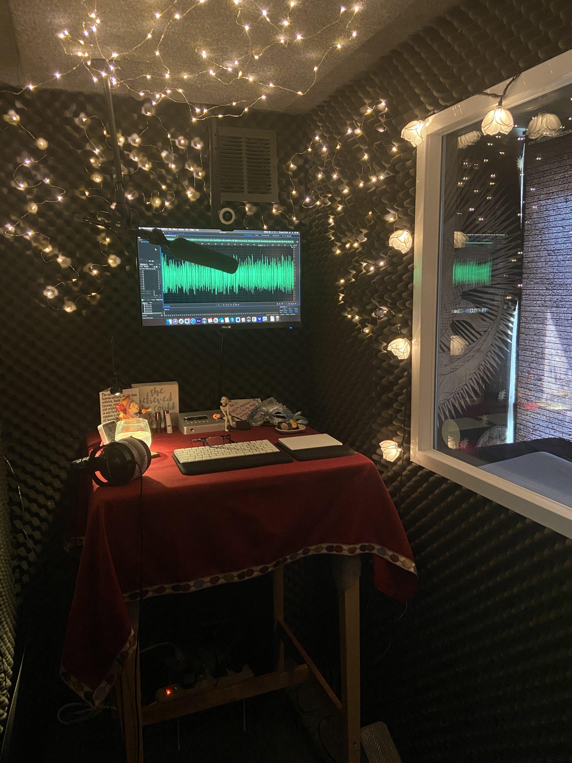 Benztown Dani States Behind the Mic Studio
